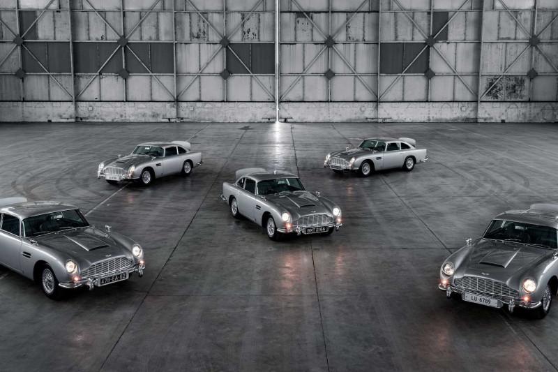Zijn deze nieuwe Aston Martin DB5 Goldfinger-recreations nu al kapot?