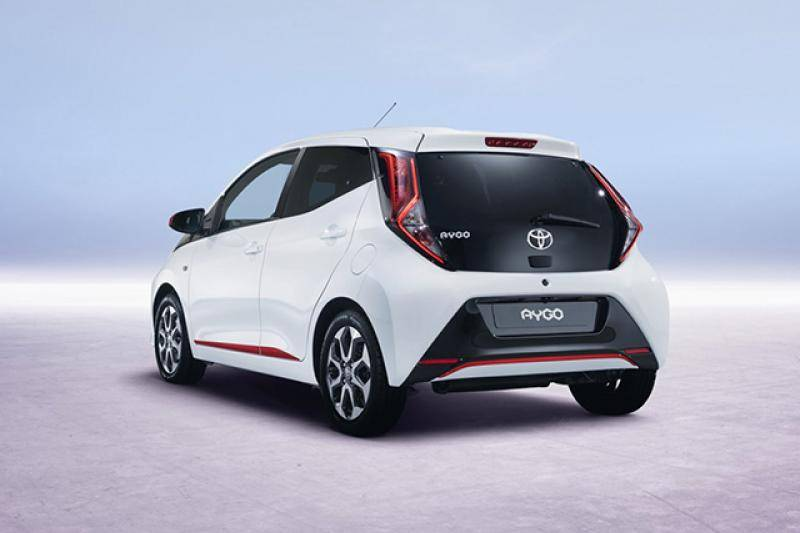 Toyota Aygo 5-drs prijzen en specificaties