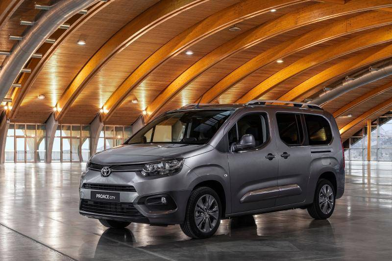 Toyota ProAce  prijzen en specificaties