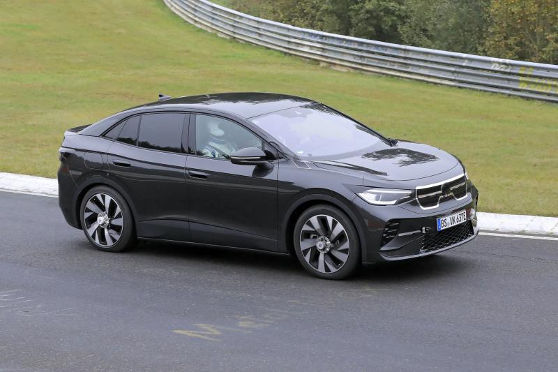 Wat rijdt hier? Is het de Volkswagen ID.5 of de ID.4 Coupé?