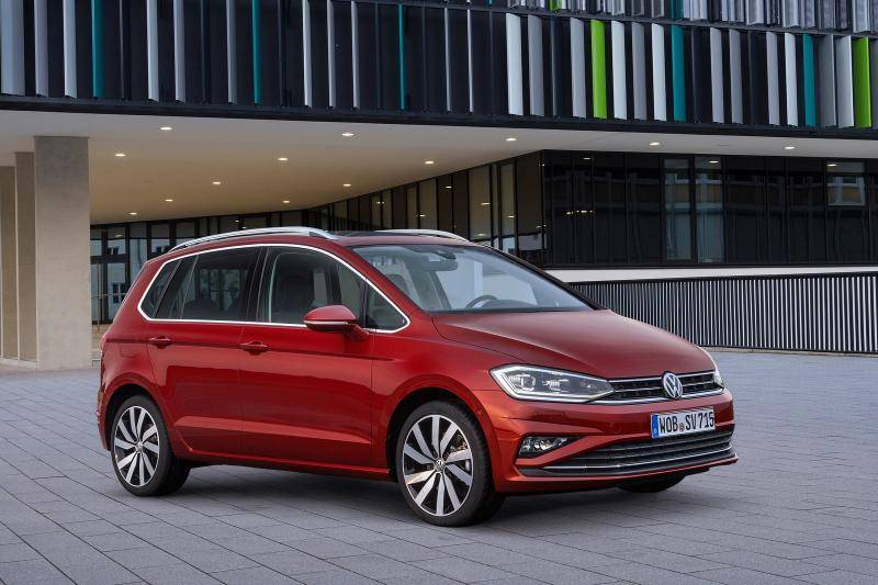 Volkswagen Golf Sportsvan prijzen en specificaties