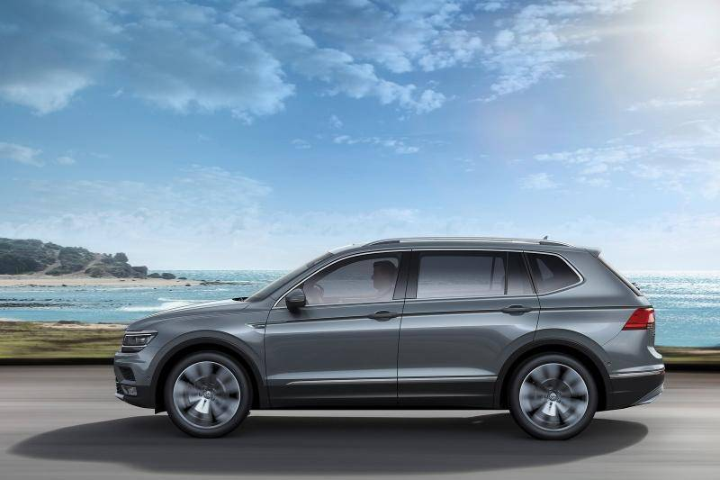 Volkswagen Tiguan Allspace prijzen en specificaties