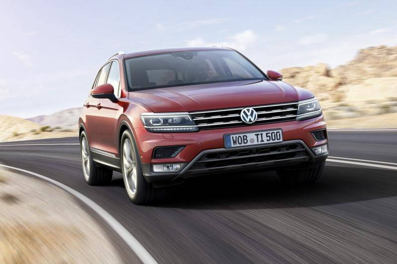 Volkswagen Tiguan prijzen en specificaties