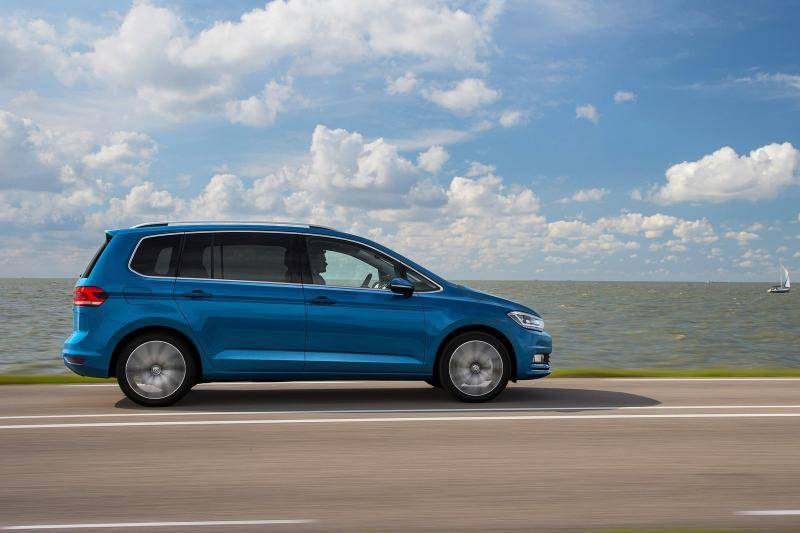 Volkswagen Touran prijzen en specificaties