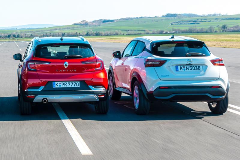 Test Renault Captur vs. Nissan Juke: welke scoort het best op ruimte en comfort?