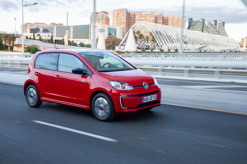 Wat is opvallend aan de Volkswagen e-Up (2020)?