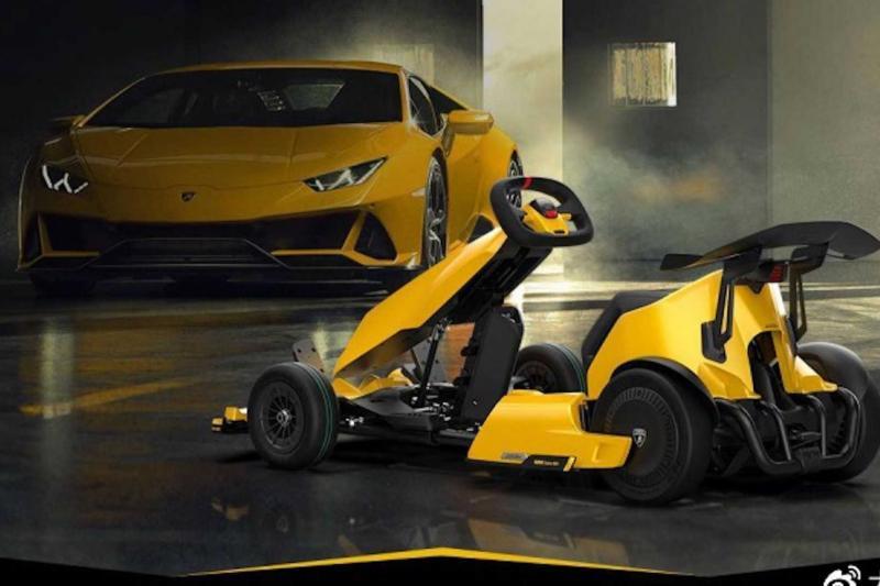 Deze elektrische kart brult als een echte Lamborghini