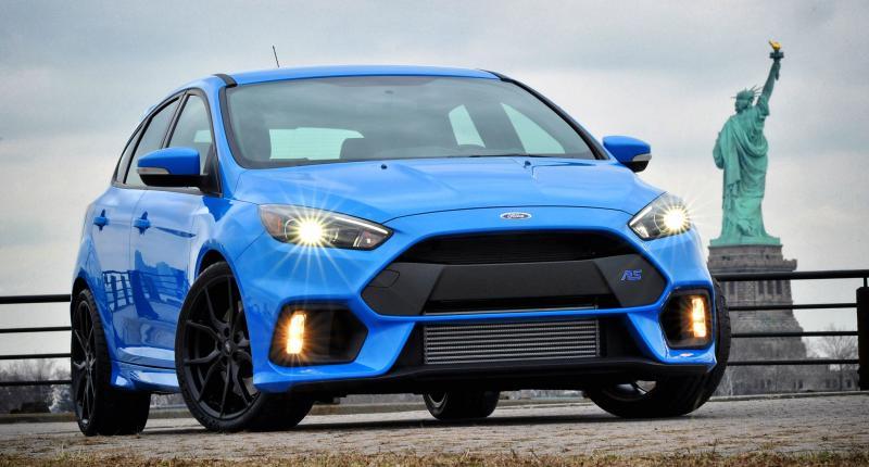 Alle foto's van de nieuwe Ford Focus RS tot dusver
