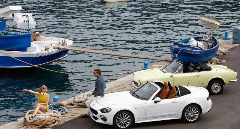 Fiat 124 Spider: old meets new