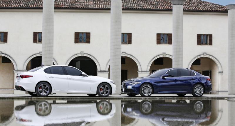 Plaatjes kijken: Alfa Romeo Giulia (+ zijn voorvader)