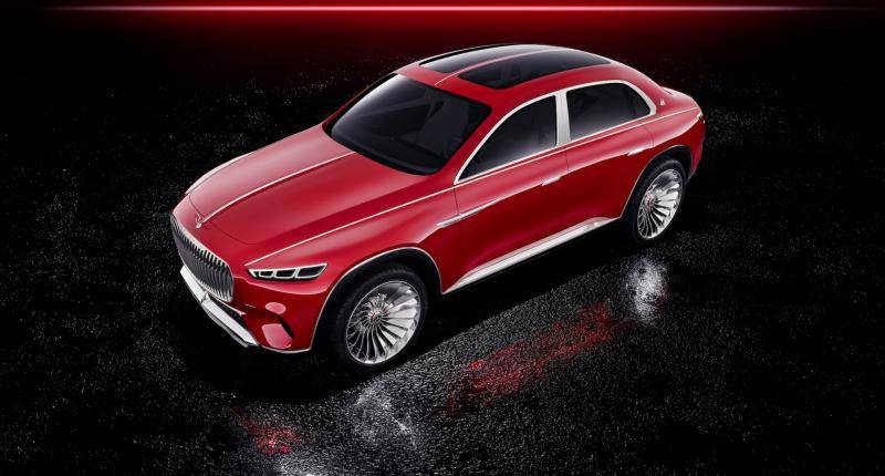 Vision Mercedes-Maybach Ultimate Luxury nu officieel