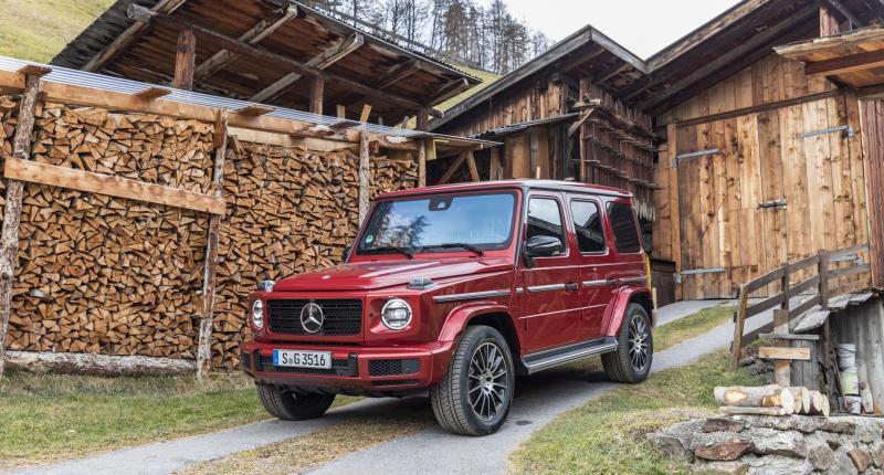 Dieselmotor voor nieuwe Mercedes G-klasse