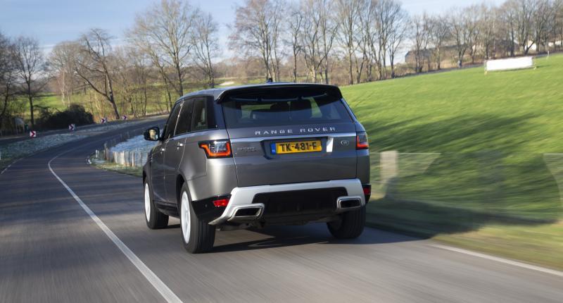 Test Range Rover Sport P400e: chic met stekker