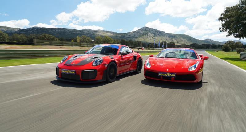 Ferrari 488 GTB neemt het op tegen de Porsche 911 GT2 RS