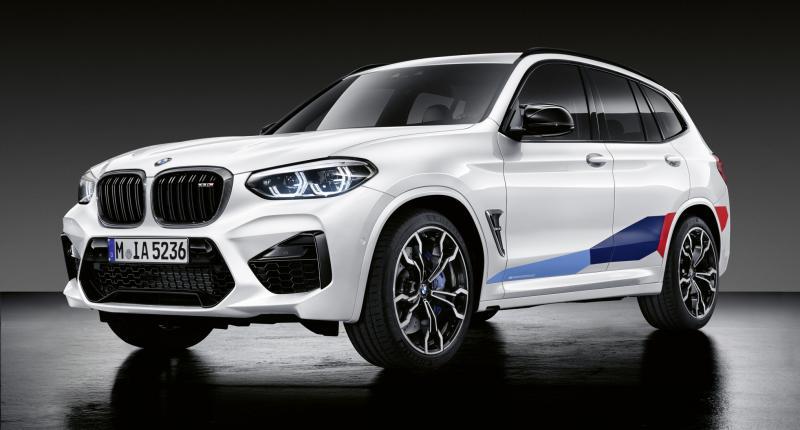 BMW X3 M en X4 M extra vet met M Performance onderdelen