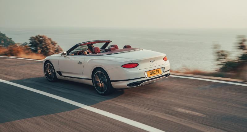 Test Bentley Continental GT Convertible: niets moet, alles kan