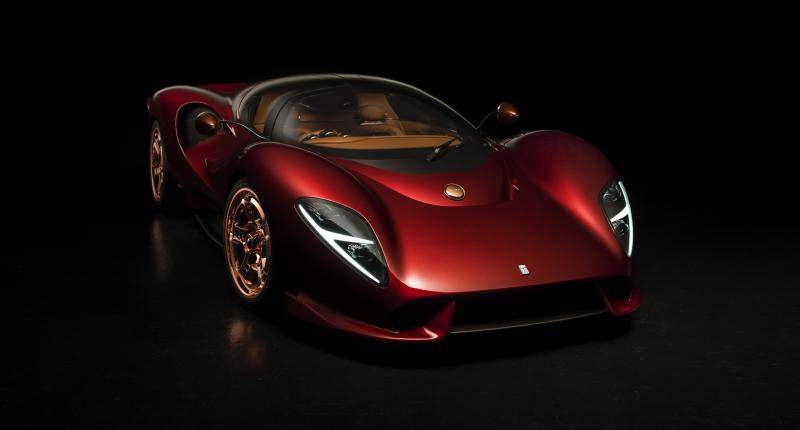 Is dit een Ferrari P4? Nee, dit is de nieuwe De Tomaso P72
