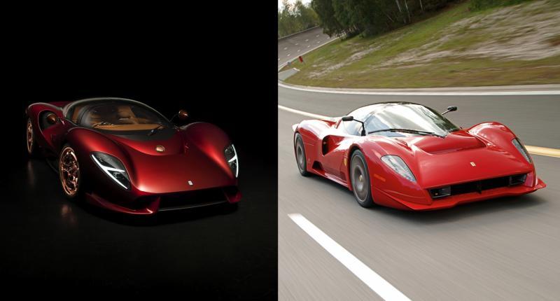 Plagiaat! Lijkt de De Tomaso P72 te veel op de Ferrari P4/5?
