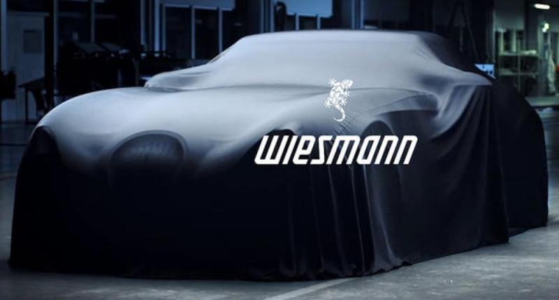Wiesmann komt terug, nog in 2019 .... en weer met hulp van BMW