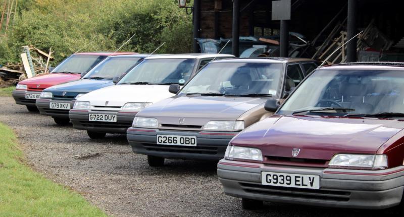 Stop de persen: hier is de nieuwe Rover 200!
