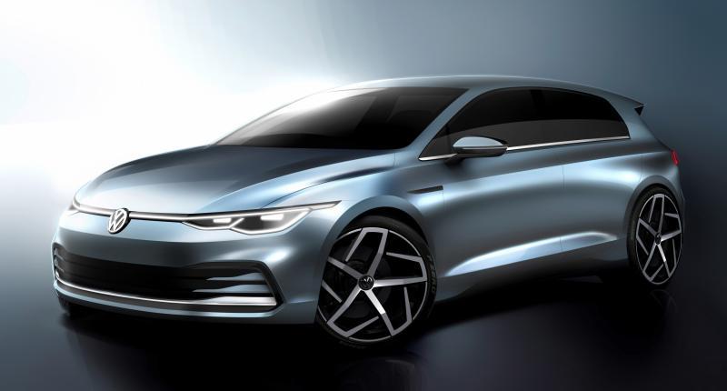 Wie houdt Volkswagen voor de gek met deze schets van de Golf 8?