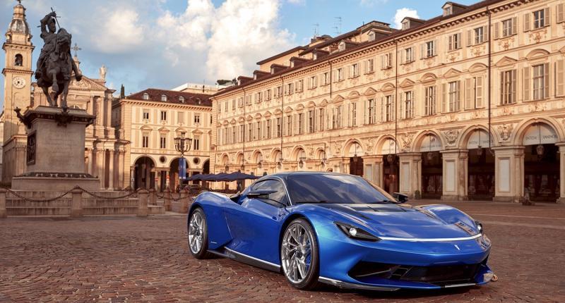 Elektrische Pininfarina Battista kost 2 miljoen
