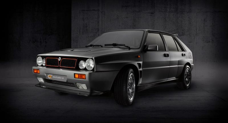 Onverlaten slopen motor uit Lancia Delta Integrale! Maken hem elektrisch
