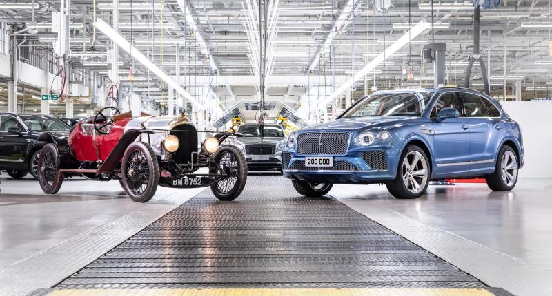 Bentley bouwt in 100 jaar net zoveel auto's als Toyota in één week