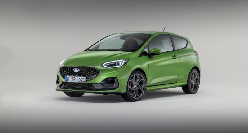 Vernieuwde Ford Fiesta heeft geen afhangende mondhoeken meer