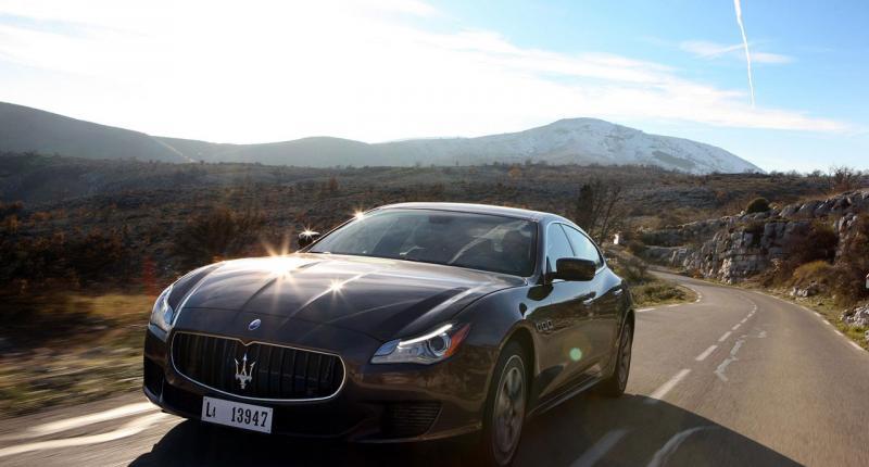 Meer foto´s van de Maserati Quattroporte