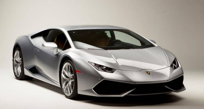 Haarscherpe details van de Lamborghini Huracán