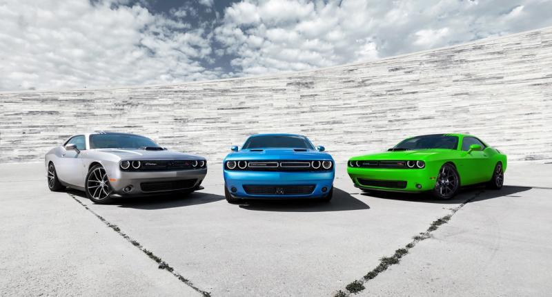 Dagelijkse dosis benzine met 2015 Dodge Challenger