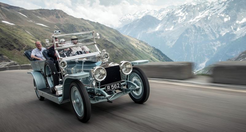 110 jaar Rollys-Royce in foto's