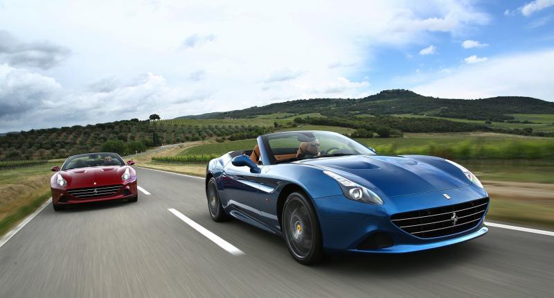 Even wegdromen bij de Ferrari California T