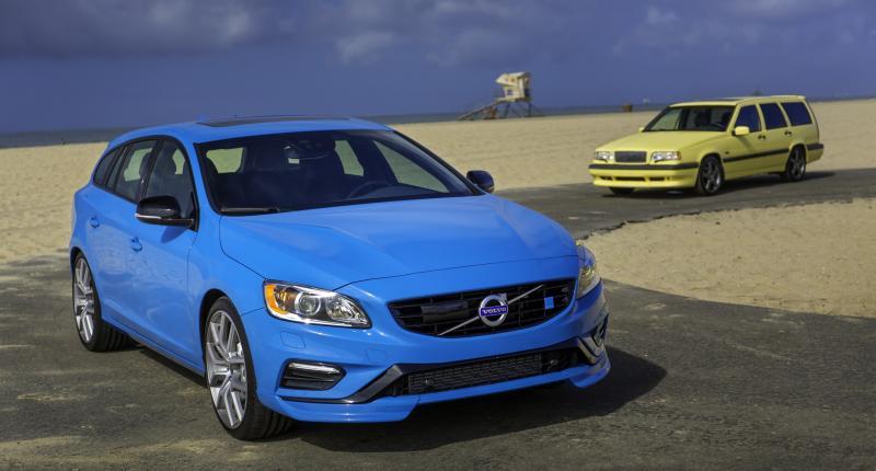 Volvo S60 en V60 Polestar herenigd met illustere voorvader