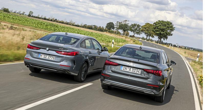 Auto's met kont! Compacte sedans van Audi en BMW getest op ruimte en comfort