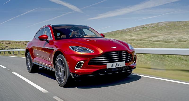 Aston Martin DBX verkoopt beter dan alle andere Aston Martin-modellen bij elkaar