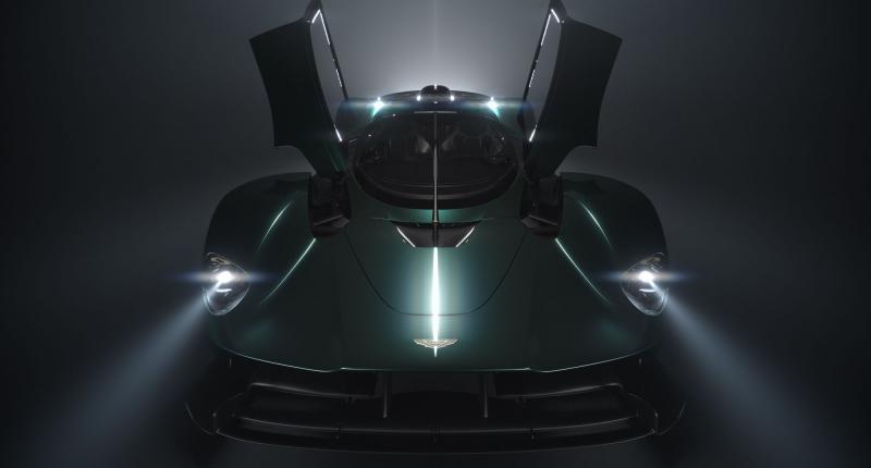 Verstopte oren? De Aston Martin Valkyrie Roadster spuit ze voor je uit