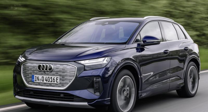 Test - De Audi Q4 E-Tron is een Skoda Enyaq / Volkswagen ID.4, maar dan beter