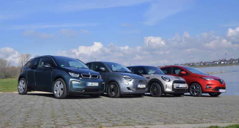 Test elektrische stadsauto's: BMW i3 is na 8 jaar op de markt nog altijd 'sjiek de friemel'