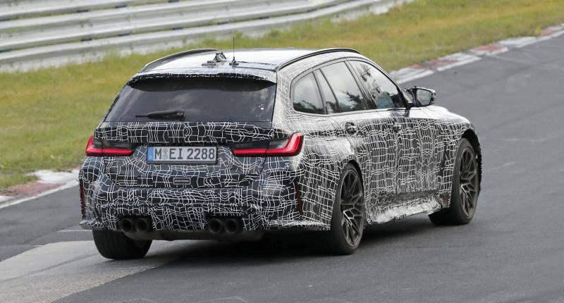 In de nieuwe BMW M3 Touring moet je geen breekbare spullen meenemen