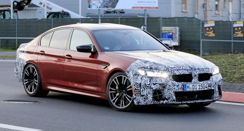Nieuwe BMW M5 houdt het beschaafd