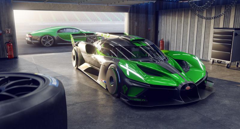 Belangrijk nieuws voor 40 superrijken: de Bugatti Bolide gaat in productie