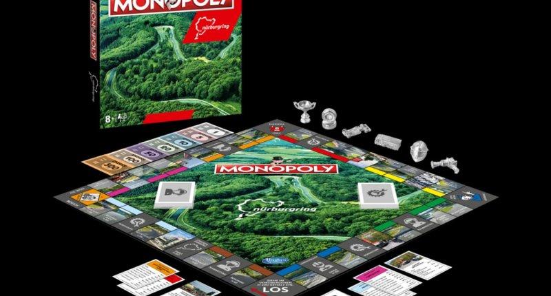 Voor onder de boom: Monopoly Nürburgring Edition