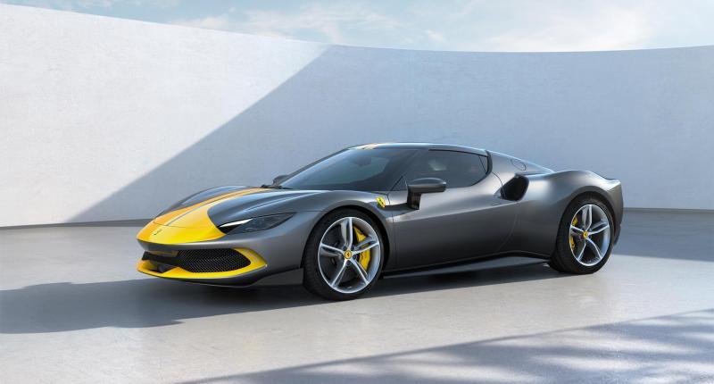 Met de Ferrari 296 GTB kun je elektrisch naar de supermarkt. En misschien ook weer terug