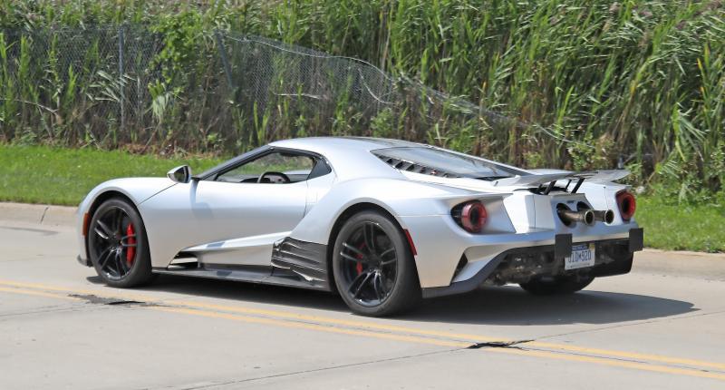 Eindelijk! Krijgt de zescilinder Ford GT een dikke V8 achterin?