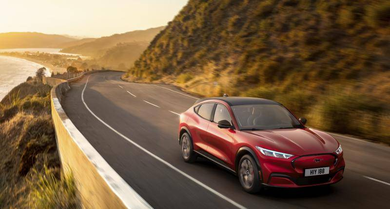 Plaatjes kijken: meer Mustang Mach E