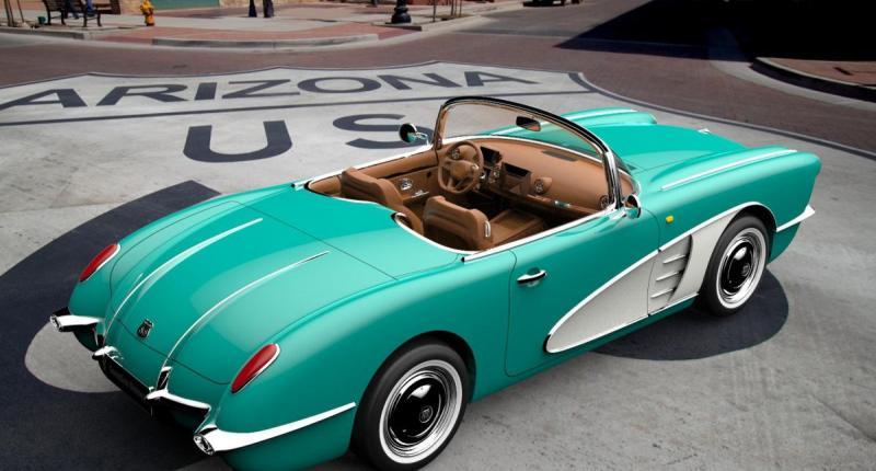 Is dit een Corvette? Nee, dit is een kopieer-Chinees