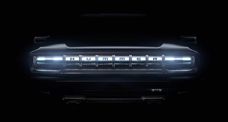 Nieuwe Hummer wordt elektrische pick-up truck van GMC