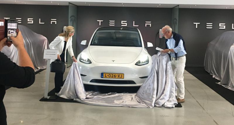De Tesla Model Y deed er 2,5 jaar over om Nederland te bereiken